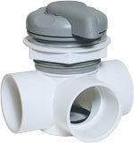 Waterway Valves 5-Scallop 2″ Horizontal – 2-Port Top Access Diverter Valves