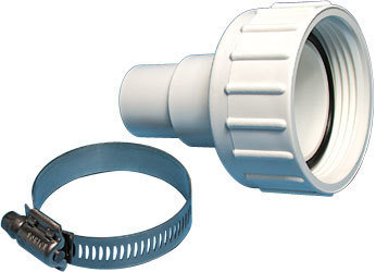 """Waterway Pump Union Assemblies 1-½"""" Union Nut with 1-½"""" / 1-¼"""" Hose Adapter and O-Ring"""