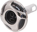 Waterway Jet Internal Reverse Swirl 2-1/4″ Diameter Stainless Steel Cluster Twin Roto