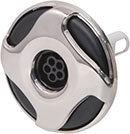 Waterway Jet Internal Reverse Swirl 3-5/16″ Diameter Stainless Steel LG Cluster Multi-Massage