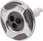 Waterway Jet Internal Reverse Swirl 3-5/16″ Diameter Stainless Steel Mini Pulse Massage