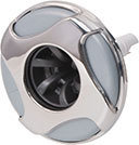 Waterway Jet Internal Reverse Swirl 4-3/8″ Diameter Stainless Steel LG Poly Rifled