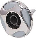 Waterway Jet Internal Reverse Swirl 4-3/8″ Diameter Stainless Steel LG Poly Directional