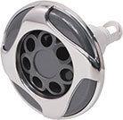 Waterway Jet Internal Reverse Swirl 5-1/4″ Diameter Stainless Steel Power Pulse Massage