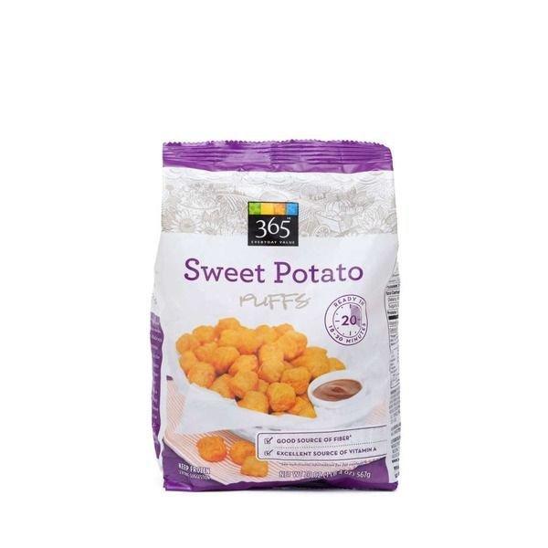 "Frozen Potatoes, 365® Organic ""Sweet Potato Puffs"" French Fries (20 oz Bag)"