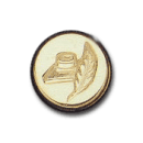 Wax Envelope Seal | 852-H Feather & Ink