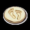 Wax Envelope Seal | 818-H Bare Foot Steps