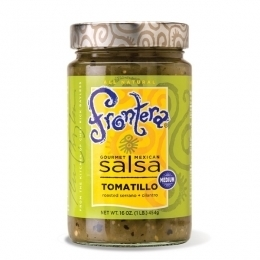 Salsa, Frontera® Tomatillo Salsa, Medium (28 oz Jar)