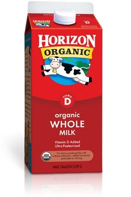 Dairy Milk, Horizon® Organic Whole Milk (½ Gallon Carton)