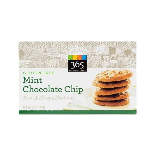 Cookies, 365® Mint Chocolate Chip Cookies (7 oz Box)