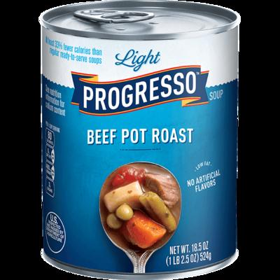 Canned Soup, Progresso® Light® Beef Pot Roast Soup (18.5 oz Can)