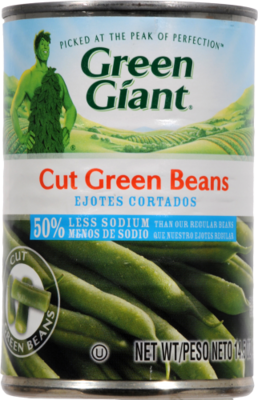 Canned Green Beans, Green Giant® Cut Green Beans (14.5 oz Can)