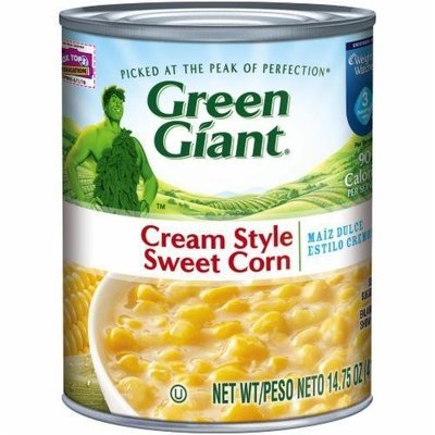 Canned Corn, Green Giant® Cream Style Sweet Corn (14.75 oz Can)