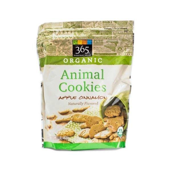 Cookies, 365® Organic Apple Cinnamon Animal Cookies (16 oz Bag)