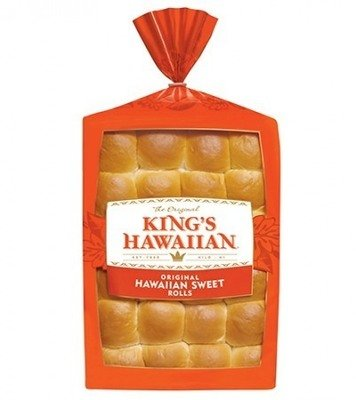 Rolls, Kings® Hawaiian Rolls (12 Rolls, 12 oz Bag)
