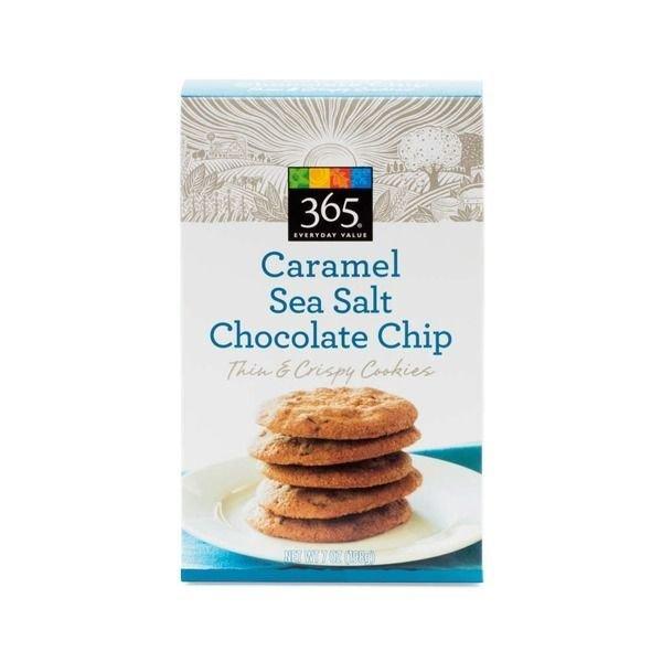 Cookies, 365® Sea Salt Caramel Chocolate Chip Cookies (7 oz Box)