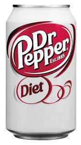 Soda, Dr Pepper® Diet Soda (Single 12 oz Can)