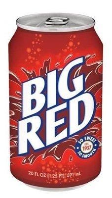 Soda, Big Red® Soda (Single 12 oz Can)