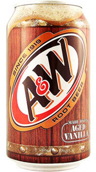 Soda, A&W® Root Beer Soda (Single 12 oz Can)