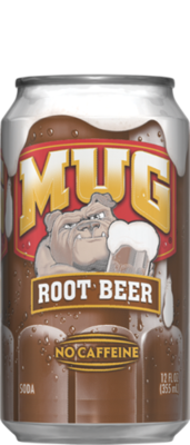 Soda, Mug® Root Beer (12 oz Can)