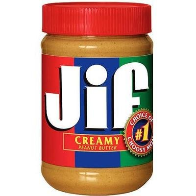 Peanut Butter, Jif® Creamy Peanut Butter (16 oz Jar)