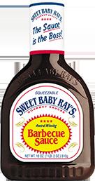 BBQ Sauce, Sweet Baby Ray's® Original BBQ Sauce (18 oz Bottle)