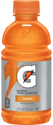 Energy Drink, Gatorade® Orange Energy Drink (Single 12 oz Bottle)