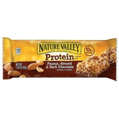 Snack Bar, Nature Valley® Peanut Butter & Dark Chocolate Granola Bar (1.42 oz Bag)