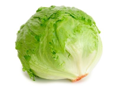 Fresh Salad Greens, Iceberg Head Lettuce (Single Head)