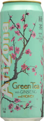 Tea, Arizona® Green Tea (23 oz Can)