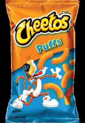 Snack, Frito-Lay® Cheetos® Puffs® (8 oz Bag)