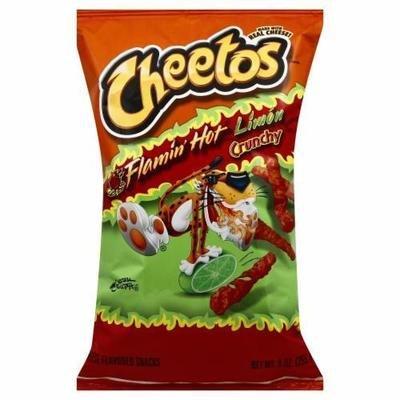 Snack, Frito-Lay® Cheetos® Flamin' Hot Crunchy Limon (8 oz Bag)
