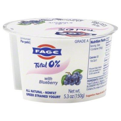 Yogurt, Fage® Greek Yogurt, Blueberry