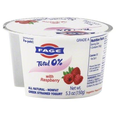 Yogurt, Fage® Greek Yogurt, Raspberry