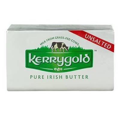 Unsalted Butter, Kerrygold® Unsalted Stick Butter (8 oz Silver Box)
