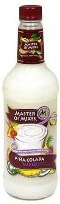 Drink Mixer, Master Of Mixes® Piña Colada Mix (1 Liter Bottle - 33.8 oz)