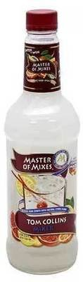 Drink Mixer, Master Of Mixes® Sour Apple Martini Mix (1 Liter Bottle - 33.8 oz)