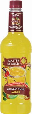 Drink Mixer, Master Of Mixes® Whiskey Sour Mix (1 Liter Bottle - 33.8 oz)