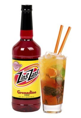 Drink Mixer, Zing Zang® Grenadine Syrup (32 oz Bottle)