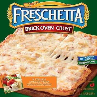 Frozen Pizza, Freschetta® Brick Oven® 5 Cheese Pizza (20.28 oz Box)