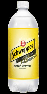 Tonic Water, Schweppes® Tonic Water (1 Liter Bottle)