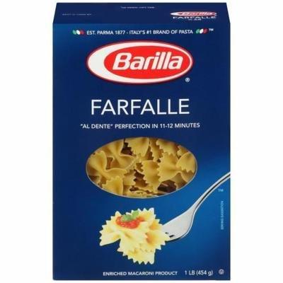 Pasta, Barilla® Farfalle Pasta (16 oz Box)