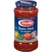 Pasta Sauce, Barilla® Tuscan Herb Pasta Sauce (24 oz Jar)