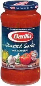 Pasta Sauce, Barilla® Roasted Garlic Sauce (24 oz Jar)
