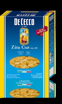 Pasta, Zita, De Cecco® Zita Pasta, 12 oz Box