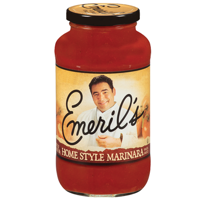 Marinara Pasta Sauce, Emeril's® Home Style Marinara Sauce (25 oz Jar)