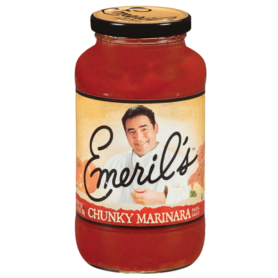 Marinara Pasta Sauce, Emeril's® Chunky Marinara Sauce (25 oz Jar)