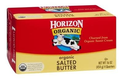 Organic Butter, Horizon® Organic Salted Butter (16 oz Box)