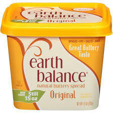 Butter, Earth Balance® Original Buttery Spread (15 oz Tub)