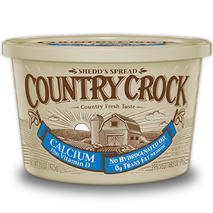 Butter, Country Crock® Calcium Buttery Spread (15 oz Tub)